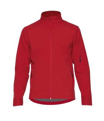 Gildan Mens Hammer Soft Shell Jacket (Red) - UTPC3990