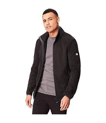 Regatta Great Outdoors Mens Torrens Full Zip Fleece (Black) - UTRG3860
