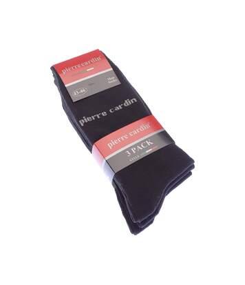 Chaussette Niveau mollet - Lot de 3 - Sans bouclette - Coton - Noir