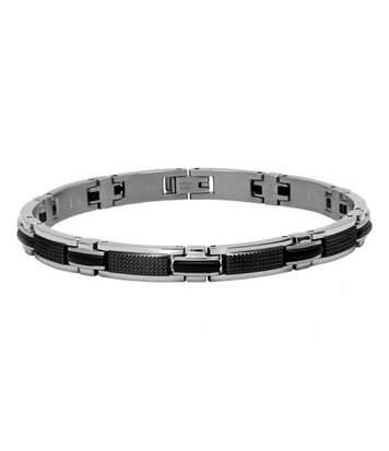 Bracelet Homme ROCHET modèle SHAFT Bicolore - B031981A