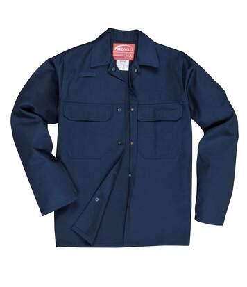 Portwest Mens Bizweld Work Jacket (Navy) - UTRW2798
