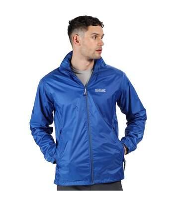 Regatta Mens Lyle IV Waterproof Hooded Jacket (Nautical Blue) - UTRG3476