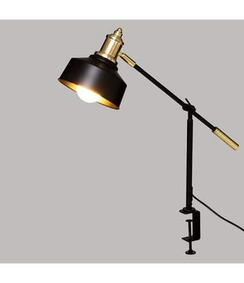 Atmosphera - Lampe Pince en métal Noir H 50 cm
