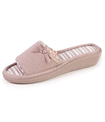 Isotoner Chaussons sandales femme