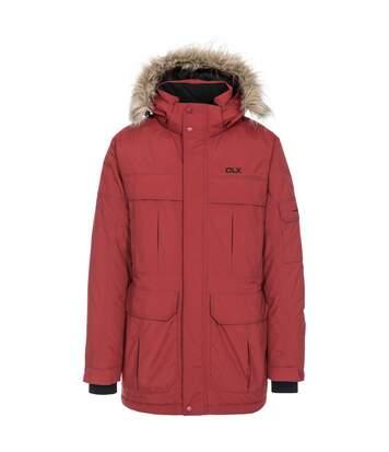 Trespass Mens Highland Waterproof Parka Jacket (Merlot) - UTTP1304