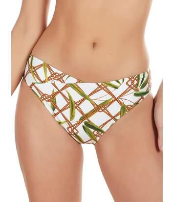 Bas maillot de bain bikini Bambu blanc Selmark Mare