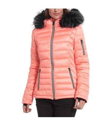 Manteau de Ski Saumon Femme Sun Valley Remine