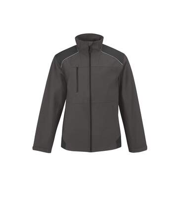 B&C Mens Shield Softshell Pro Jacket (Dark Grey) - UTRW4834