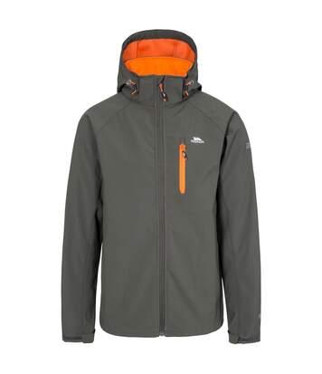 Trespass Mens Nider Waterproof Softshell Jacket (Charcoal) - UTTP4135