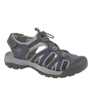PDQ Mens Toggle & Touch Fastening Superlight Sports Sandals (Navy) - UTDF1435