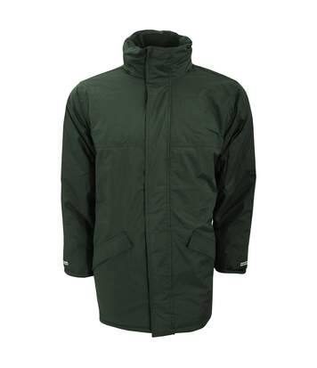 Result Mens Core Winter Parka Waterproof Windproof Jacket (Bottle Green) - UTBC901
