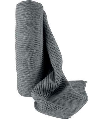 Écharpe tricot White