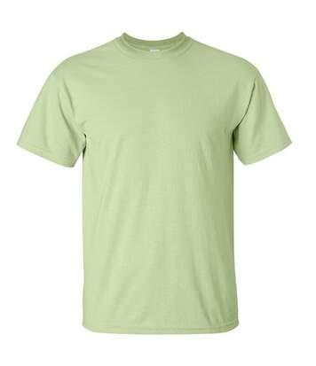 Gildan Mens Ultra Cotton Short Sleeve T-Shirt (Pistachio) - UTBC475