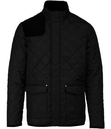 Veste matelassée - K6126 - noir - homme