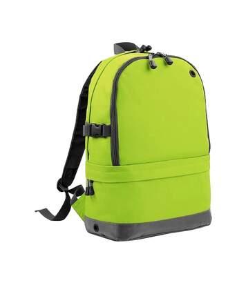 Bagbase - Sac À Dos Pour Ordinateur Portable (18 Litres) (Lot De 2) (Vert citron) - UTRW6688