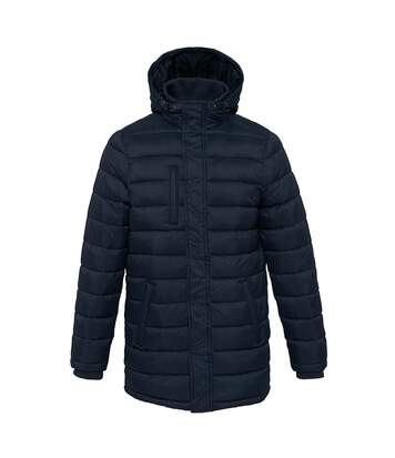 Kariban Mens Lightweight Long Padded Parka Jacket (Navy) - UTPC3823