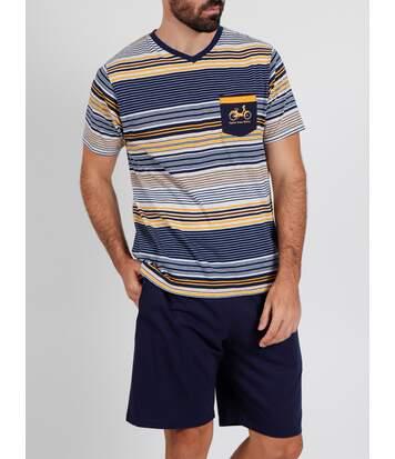 Pyjama short t-shirt Rayas Mobility Admas
