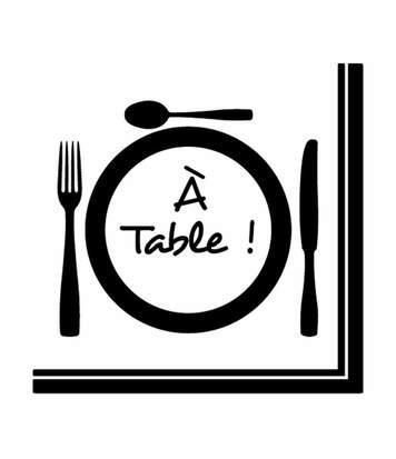 Paris Prix - Lot De 20 Serviettes En Papier a Table 33x33cm Blanc