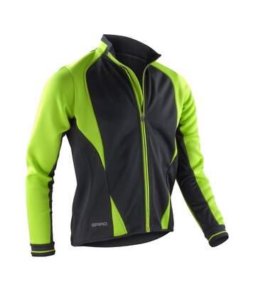 Spiro Freedom - Veste Softshell De Sport - Homme (Vert citron/Noir) - UTRW2857