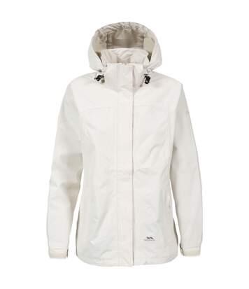 Trespass Womens/Ladies Nasu II Waterproof Shell Jacket (Vanilla) - UTTP3377