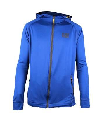 Caterpillar Mens Contoured Zip Up Jacket (Blue) - UTFS3422