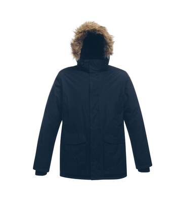 Regatta Professional Mens Ice Storm Waterproof Winter Parka Jacket (Navy) - UTRG2170