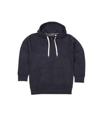 Mantis Womens/Ladies Superstar Zip Hooded Sweatshirt / Hoodie (Swiss Navy) - UTBC2691
