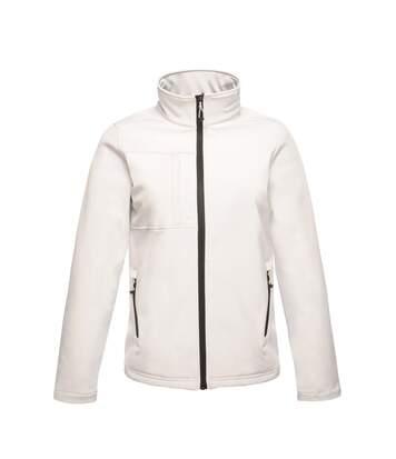 Regatta Professional Mens Octagon II Waterproof Softshell Jacket (White/Light Steel) - UTRG2164