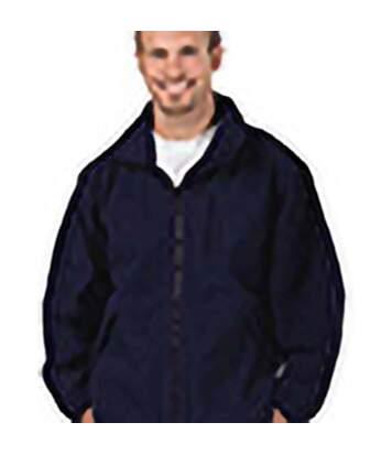 Portwest Mens Aran Full Zip Fleece Top (Navy) - UTRW4363