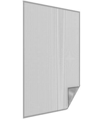 Moustiquaire pour fenêtre avec bande auto-agrippante 130x150 cm