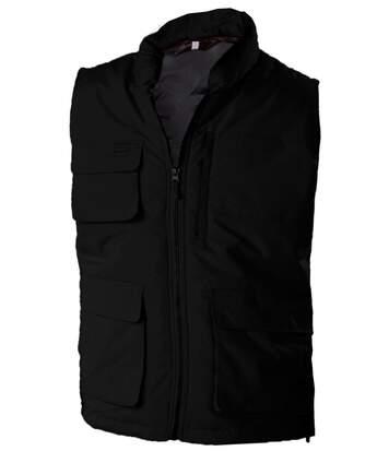 Veste sans manches bodywarmer matelassé - K615 - noir