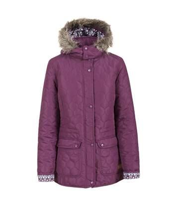Trespass Womens/Ladies Jenna Casual Padded Jacket (Blackberry) - UTTP3064