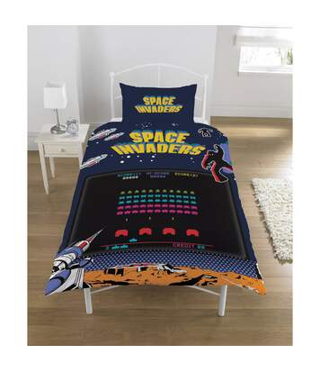 Space Invaders - Ensemble De Lit (Multicolore) - UTSI206