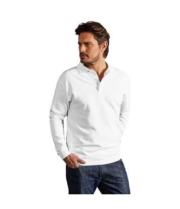 Polo sweat manches longues Hommes