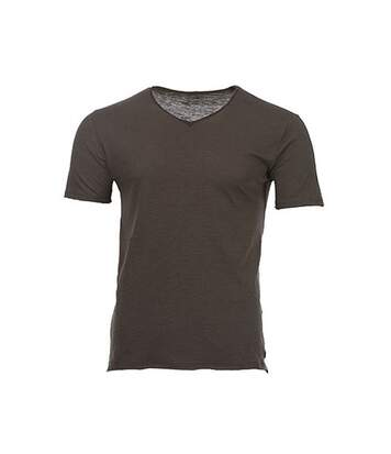 T-shirt kaki foncé homme Teddy Smith Tagery