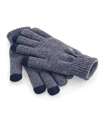 Beechfield Unisex Touchscreen Smart Phone / IPhone / IPad Winter Gloves (Heather Navy) - UTRW253