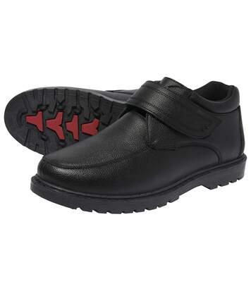 Кожаные Ботинки на Липучке