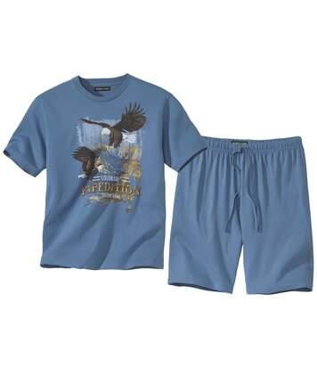 Krátke pyžamo Colorado Eagles