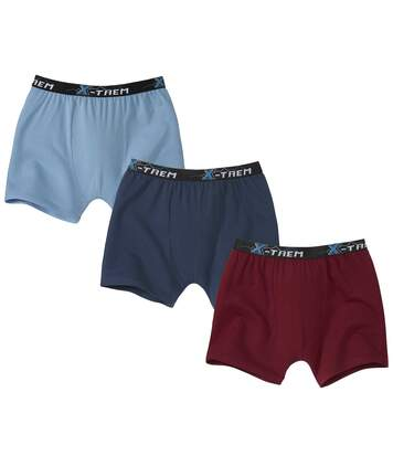 Lot de 3 Boxers Stretch Confort
