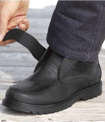 Boty se zapínáním na suchý zip