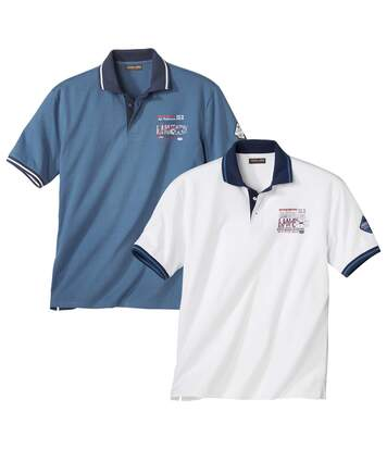 2er-Pack Polo-Shirts Skipper