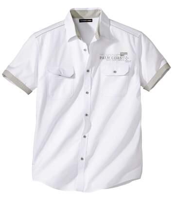 Weißes Hemd Palm Coast