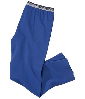 Men's Blue Leisure Trousers