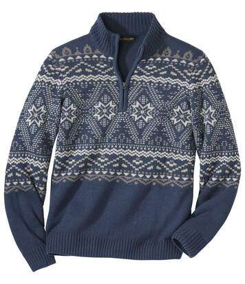 Pletený sveter Esprit Nordique