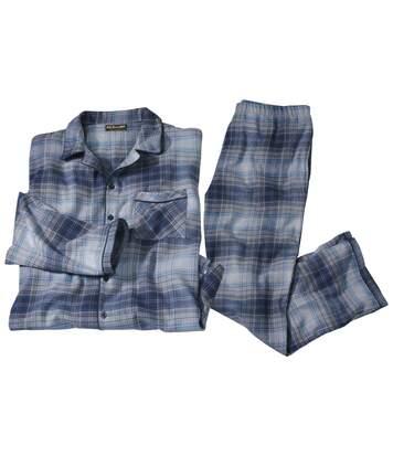 Klassischer Schlafanzug aus Flanell