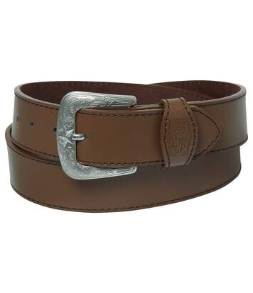 Men's Western Style Belt - Split Leather