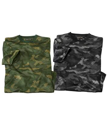 2er-Pack T-Shirts Camouflage
