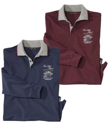 2er-Pack Poloshirts North Cup