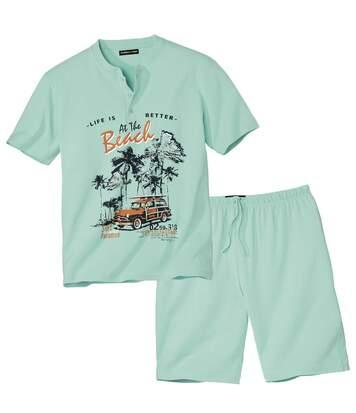 Piżama z szortami MiamiBeach