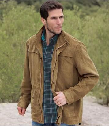 Куртка из Искусственной Замши «Сахара»